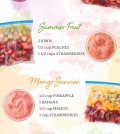 Refreshing Make-Ahead Smoothie Pack Recipes Infographic