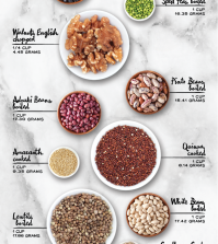 The Best Sources Of Plant Based Protein For A Healthy Diet Infographic