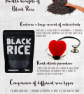Black Rice: Health Benefits Of The Less-Known Ancient Grain Infographic