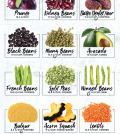 The Ultimate List Of 24 High Fiber Foods Infographic