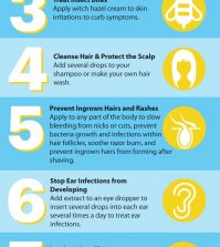 10 Witch Hazel Uses For Flawless Skin And Health Infographic