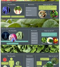 The Not-So-Famous Leafy Greens You Should Know About Infographic