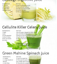 Super Healthy Green Juice Recipes For You To Try Out Infographic