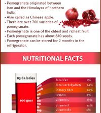 The Benefits Of Pomegranate Juice For Your Skin, Hair And Health Infographic