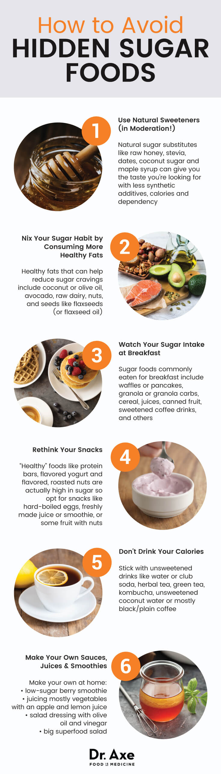 One More Time About Sugar: Learn To Avoid The Hidden Dangers Infographic