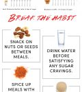 A Few Tricks For Breaking The Sugar Habit Infographic