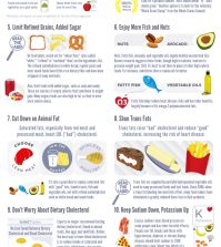 Healthy Eating Made Simple: 14 Essential Steps Infographic