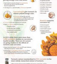 Turmeric & Its Powerful Anti-Inflammatory Qualities Infographic