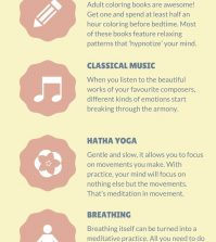5 Alternative Ways Of Active Meditation To Use Daily Infographic