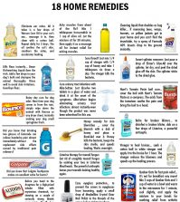 Unusual (But Effective) Home Remedies For Any Occasion Infographic