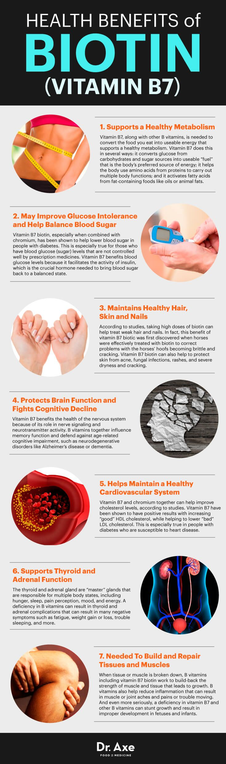 Biotin: Why It Is Essential To Our Health Infographic