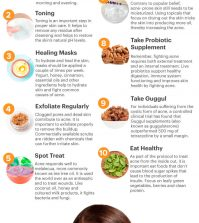 Top 10 Natural Remedies For Getting Rid Of Acne And Blemishes Infographic