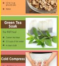Getting Rid Of Face Redness With Home Remedies Infographic