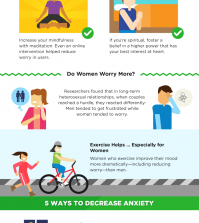 Worries: What Can You Do To Leave Them Behind? Infographic