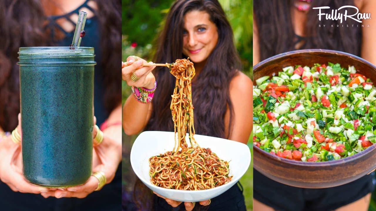 3 beginner raw vegan recipes you need to try at least once