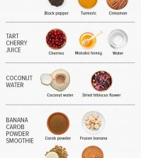 7 Natural Drinks You Can Make For Better Sleep Infographic