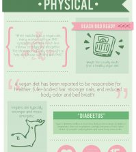 An In-Depth Look At The Benefits Of Veganism Infographic