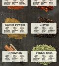 Spice This Season Up With The Food And Spice Pairing Guide Infographic