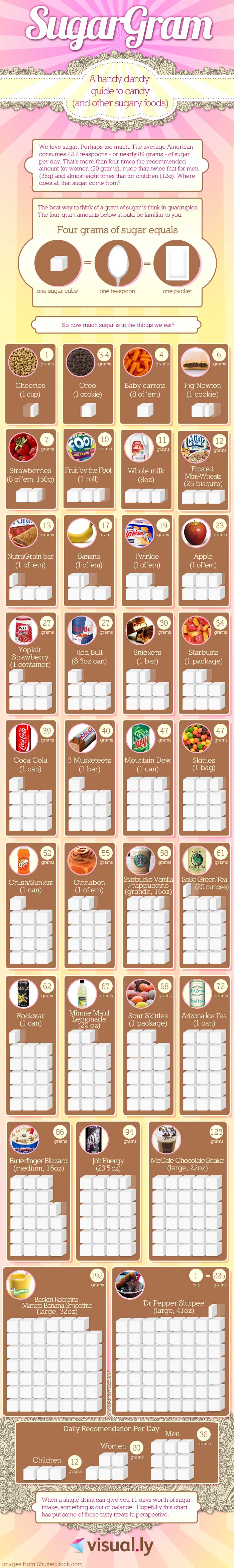 A Must-See Guide To Candy For All Sugar Lovers Infographic