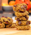 Pumpkin Breakfast: Easy Healthy Vegan Cookie Recipe Video