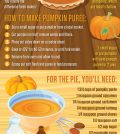 Make Delicious Pumpkin Pie From Scratch Infographic