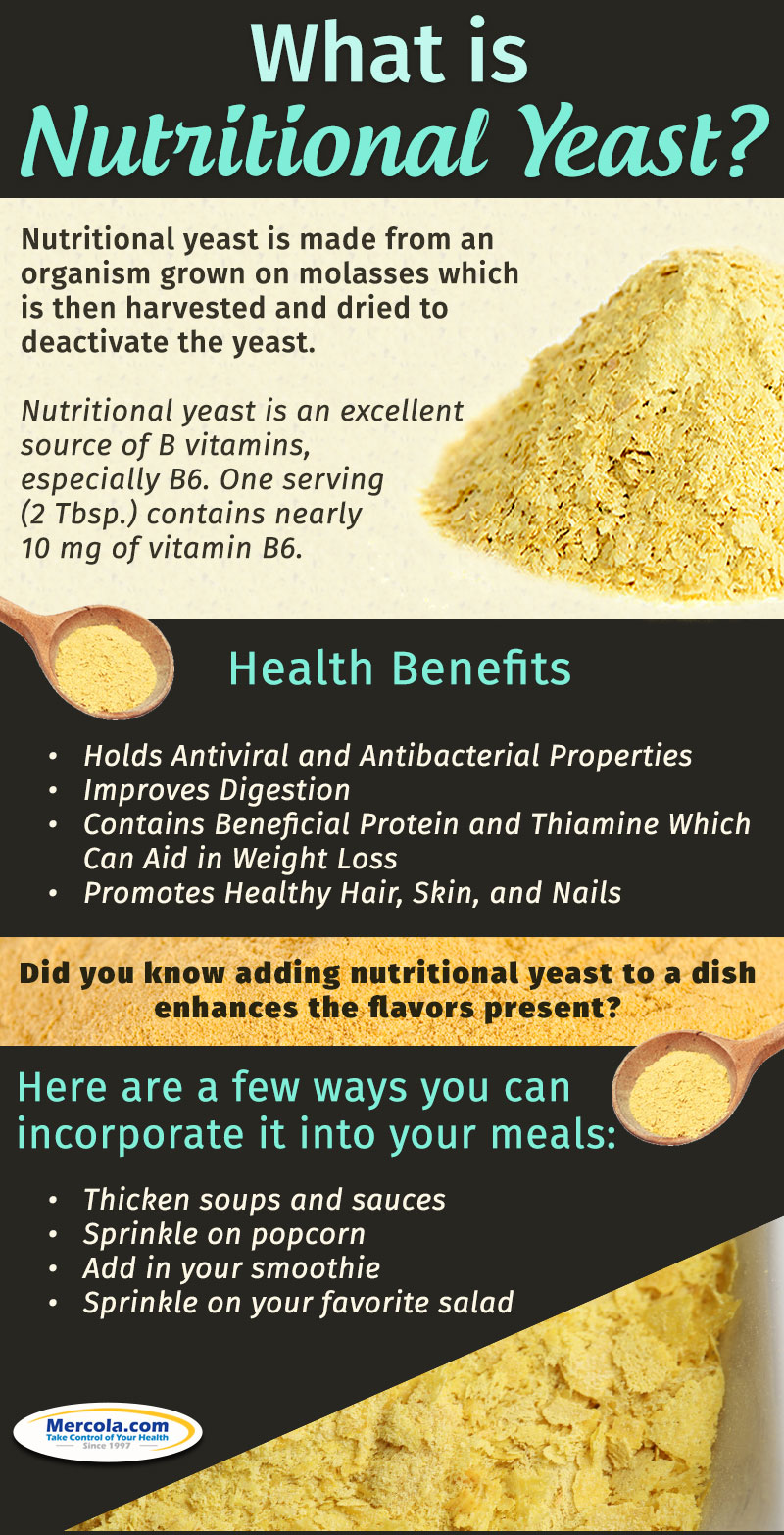 Nutritional Yeast: The Ultimate Health-Booster Infographic