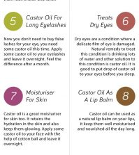 Castor Oil And Its 14 Surprising Benefits For Your Health Infographic