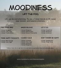 Essential Oil Blends That Will Lift Your Mood On Gloomy Days Infographic