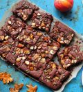 Vegan Toffee Apple Brownie And Caramel Sauce Recipe For Your Dessert Needs Video