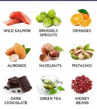 The Top Good Cholesterol Foods For Your Diet Infographic