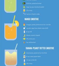8 Healthy Smoothie Recipes To Try This Summer Infographic