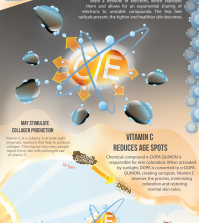 Learn How Vitamin C Works For Your Skin Infographic